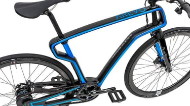 Featured image of AREVO Launches 3D Printed Carbon-Fiber eBike