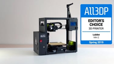Featured image of LulzBot Mini 2 Review: Editor's Choice