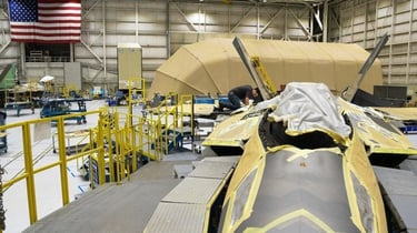 Featured image of US Air Force Installs 3D Printed Part on Operational F-22 Fighter Aircraft