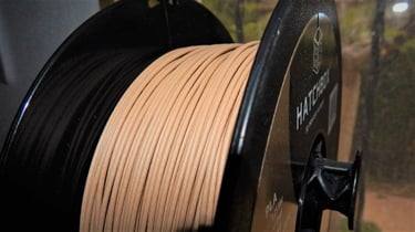 Featured image of Hatchbox Wood 3D Printer Filament Review