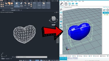 Featured image of DXF to STL – How to Convert DXF Files to 3D Printable STLs