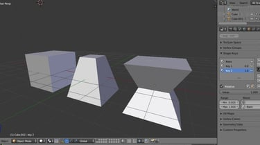 Featured image of Blender 2.8: Shape Keys – Simply Explained