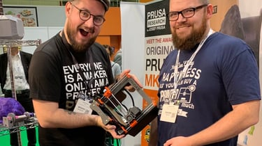 Featured image of Mini Prusa MK3 Appears at TCT Birmingham 2019