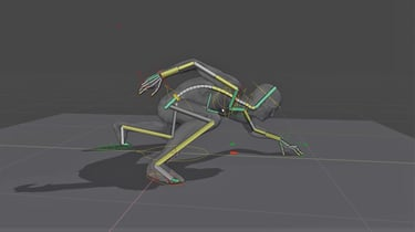 Featured image of Blender 2.8: Rigging – Simply Explained