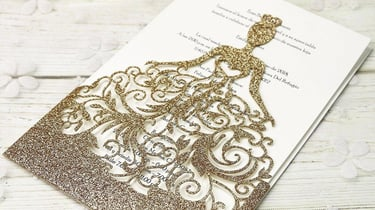 Featured image of Laser-Cut Invitations: Most Fantastic Templates