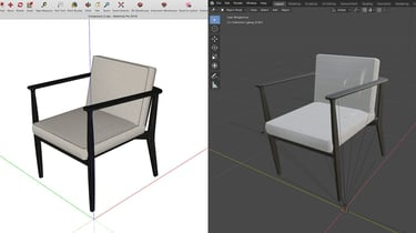 Featured image of SketchUp to Blender: How to Import SketchUp Files in Blender