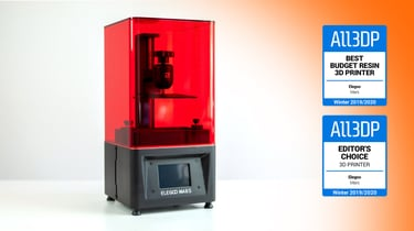 Featured image of Elegoo Mars Review: Best Budget Resin 3D Printer
