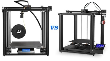 Featured image of Ender 5 vs Ender 5 Pro vs Ender 5 Plus: Differences
