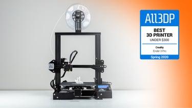 Image de l'en-tête de Creality Ender 3 Pro : meilleure imprimante 3D à moins de 300€
