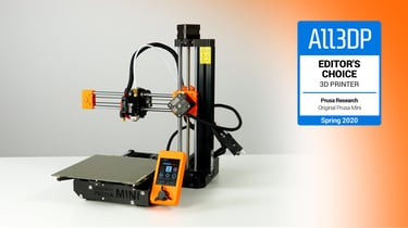 Featured image of Original Prusa Mini Review: Editor's Choice