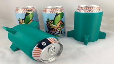 Featured image of 3D Printed Cup Holders & Koozies: 10 Great 3D Models