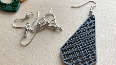 Featured image of 3D Printed Earrings: 15 Great Models to 3D Print