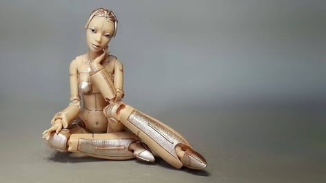 Featured image of 3D Printed Robotica