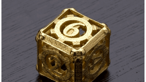 Featured image of 3D Printed Steampunk Dice