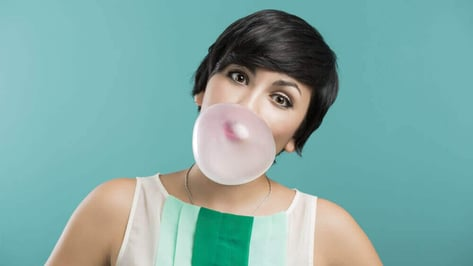 Featured image of Chew on this: 3D printed bubble gum