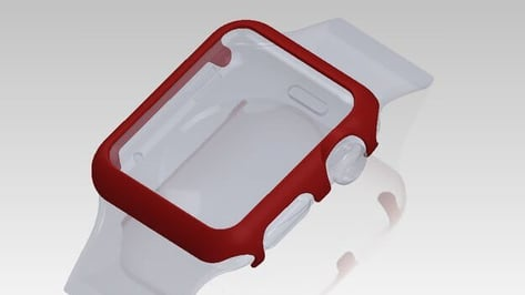 Featured image of 3D Printed Bumper Protects Your Precious Apple Watch