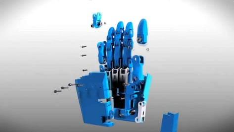 Featured image of Hand printing by Open Bionics