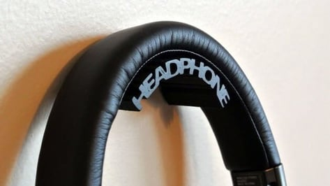 Featured image of 3D printed Headphone Holder