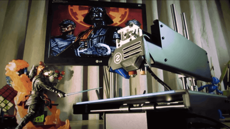Featured image of Machine Music: This 3D Printer Plays the Imperial March from Star Wars