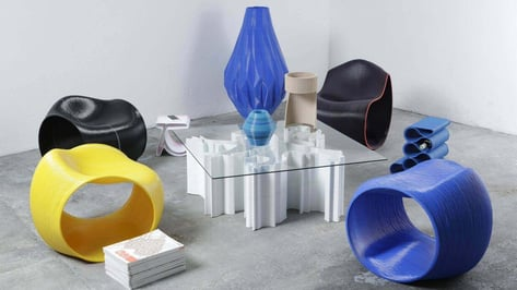 Featured image of 3D Printed Furniture: If You Love Them Head Over to Kickstarter