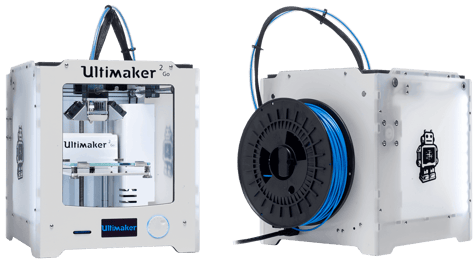 Featured image of Ultimaker 2 Go: First Impression
