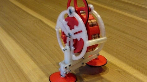 Featured image of 3D Printed Walking Gyroscope Modeled on Lapsed Patent