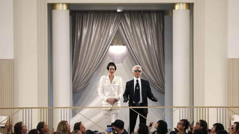 Featured image of 3D Printed Clothing: Karl Lagerfeld shows Chanel Collection