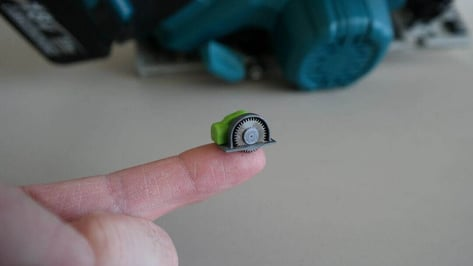 Featured image of World's Smallest Working Circular Saw is 3D Printed