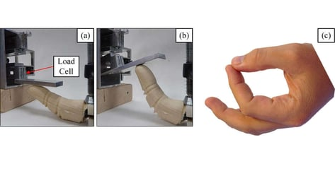 Featured image of BioRobotic 3D Printed Finger Could Advance Prosthetics