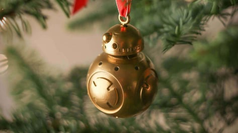 Featured image of 3D Print your Star Wars BB-8 Christmas Decorations