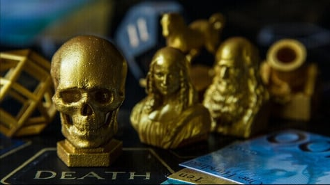 Featured image of Leonardo da Vinci Board Game with 3D Printed Pieces