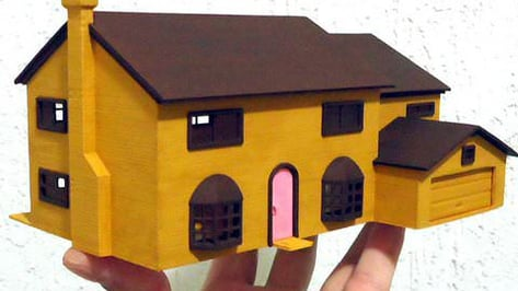 Featured image of 3D Print The Simpsons House: 742 Evergreen Terrace Never Looked So Good