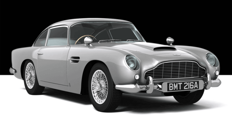 Featured image of 3D Printed Aston Martin DB5 Replica costs £28,000 (But has Working Machine Guns)