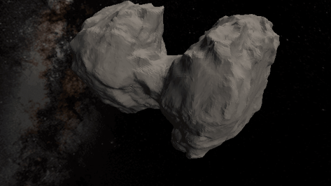 Featured image of 3D Print a Stunningly Detailed Model of the Rosetta Comet