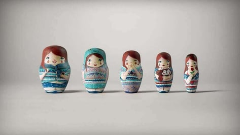 Featured image of Nesting Dolls Encourage Members with Fitness Plans