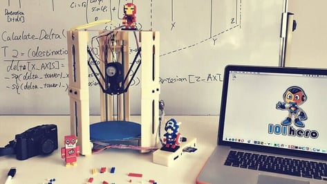 Featured image of Everything We Know about 101Hero, the $49 3D Printer