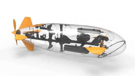 "Featured image of ""Most 3D Printed Vessel"" Enters Submarine Race Series"
