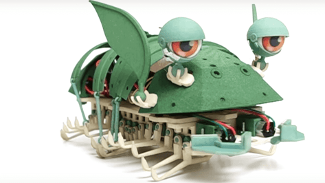 Featured image of Meet Shellmo the 3D Printed Collectible Bug