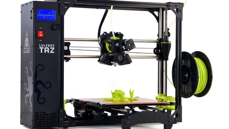Featured image of Aleph Objects Unveil Lulzbot TAZ 6