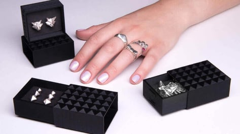 Featured image of Casting Molds and Silver Jewelry Made with ZMorph 2.0 SX