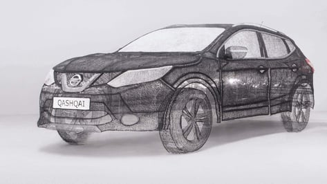 Featured image of Nissan Qashqai is World's Largest 3D Pen Sculpture