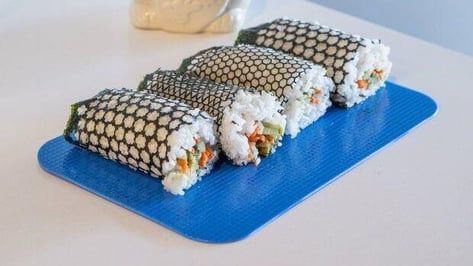 Featured image of Make Your Own Laser-Cut Patterns in Nori for Stylish Sushi