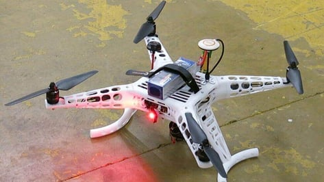 Featured image of How a Sculpteo Intern 3D Printed a Drone from Scratch
