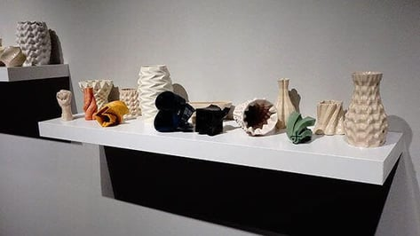 Featured image of Artist 3D Prints Beautiful Designs using Clay