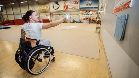 Featured image of Paralympic Fencer Uses 3D Printed Back Brace