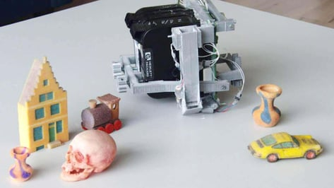 Featured image of Turn Your 3D Printer into a Full-Color Candy Machine