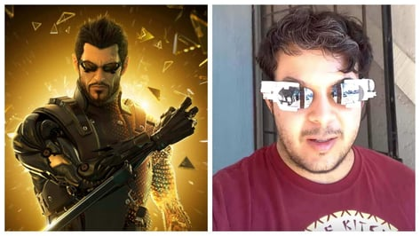 Featured image of Deus Ex Inspired 3D Printed Retractable Sunglasses, Triggered by UV