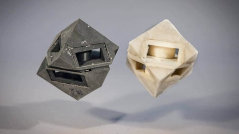 Featured image of Programmable Viscoelastic Materials: Robots with 3D Printed Skin Can Absorb Shock