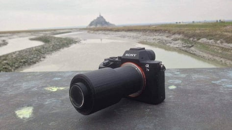 Featured image of Photographer takes Beautiful Pictures with 3D Printed Lens