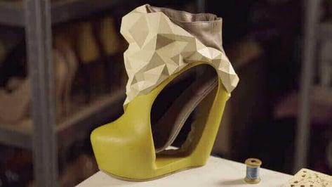 Featured image of Shoe Designer Katrien Herdewyn Creates Beautiful 3D Printed Footwear